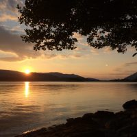 Sunset on Derwentwater, by Ruth