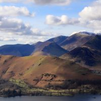 View from Walla Crag, by Ruth